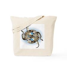 Abstract Python Snake Tote Bag