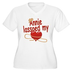 Annie Lassoed My Heart T-Shirt