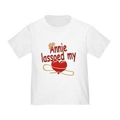Annie Lassoed My Heart T