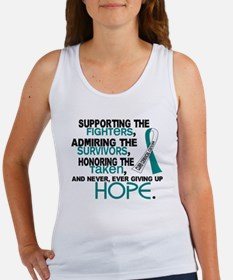 © Supporting Admiring 3.2 Cervical Cancer Shirts W