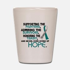 © Supporting Admiring 3.2 Cervical Cancer Shirts S