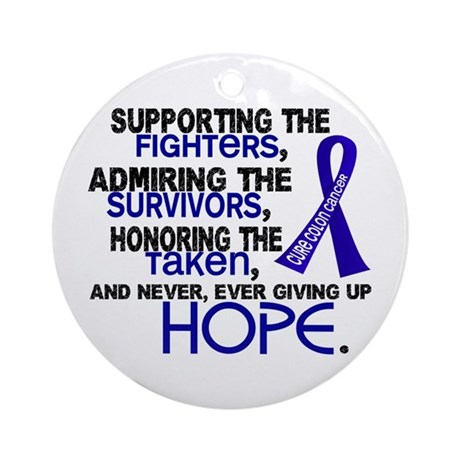 © Supporting Admiring 3.2 Colon Cancer Shirts Orna