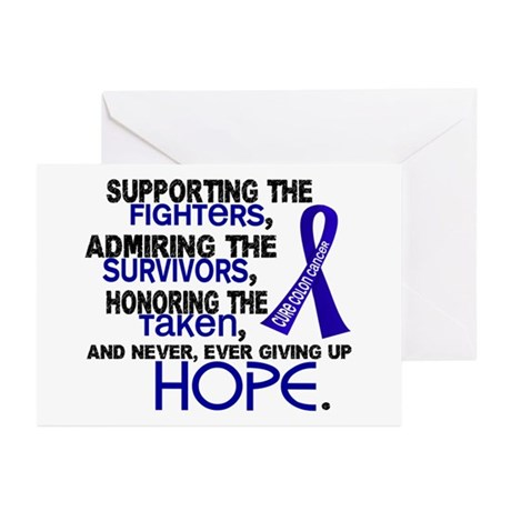 © Supporting Admiring 3.2 Colon Cancer Shirts Gree