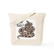 Snake Python Got Rats Tote Bag
