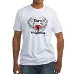 Cure Melanoma Fitted T-Shirt