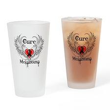 Cure Melanoma Drinking Glass