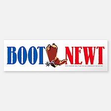 Boot Newt Bumper Bumper Bumper Sticker