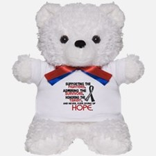 © Supporting Admiring 3.2 Melanoma Shirts Teddy Be
