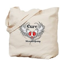 Cure Mesothelioma Tote Bag