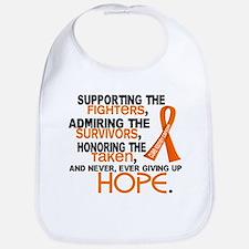 © Supporting Admiring 3.2 Kidney Cancer Shirts Bib