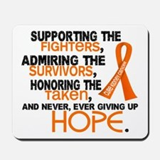 © Supporting Admiring 3.2 Kidney Cancer Shirts Mou