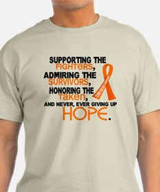 © Supporting Admiring 3.2 Kidney Cancer Shirts Lig