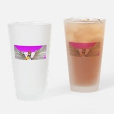 Beautiful Angel With Wings Drinking Glass