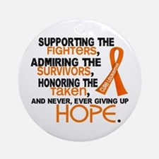 © Supporting Admiring 3.2 Leukemia Shirts Ornament