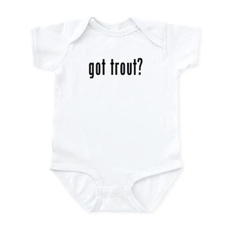 GOT TROUT Infant Bodysuit