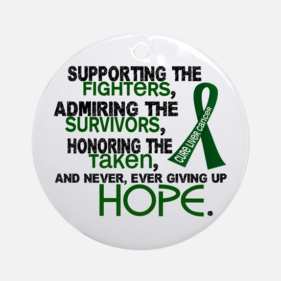 © Supporting Admiring 3.2 Liver Cancer Shirts Orna