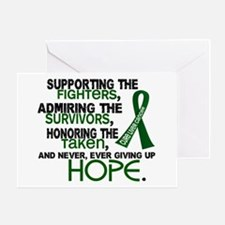 © Supporting Admiring 3.2 Liver Cancer Shirts Gree