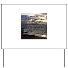 Unique Bible verses Yard Sign