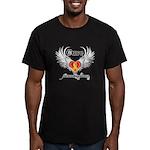 Cure Neuroblastoma Men's Fitted T-Shirt (dark)