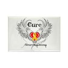 Cure Neuroblastoma Rectangle Magnet