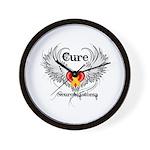 Cure Neuroblastoma Wall Clock