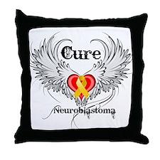 Cure Neuroblastoma Throw Pillow