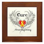 Cure Neuroblastoma Framed Tile