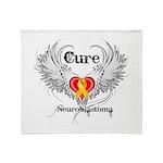 Cure Neuroblastoma Throw Blanket