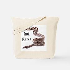 Snake Boa Got Rats Tote Bag