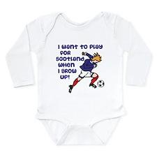 Play for Scotland Long Sleeve Infant Bodysuit