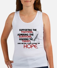 © Supporting Admiring 3.2 Mesothelioma Shirts Wome