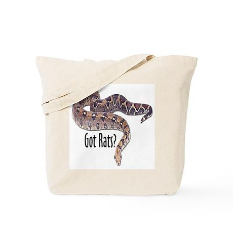 Snake Boa2 Got Rats Tote Bag