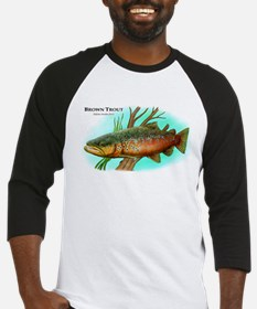 Brown Trout Baseball Jersey