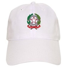 Italy Coat Of Arms Baseball Cap