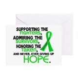 Non hodgkins lymphoma survivor Greeting Cards