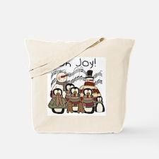 Penguin Joy Tote Bag