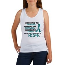 © Supporting Admiring 3.2 Ovarian Cancer Shirts Wo