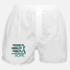 © Supporting Admiring 3.2 Ovarian Cancer Shirts Bo