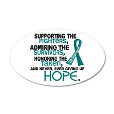 © Supporting Admiring 3.2 Ovarian Cancer Shirts 22