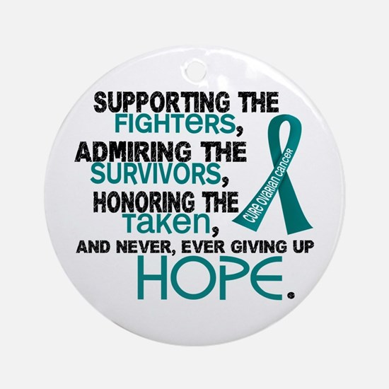© Supporting Admiring 3.2 Ovarian Cancer Shirts Or