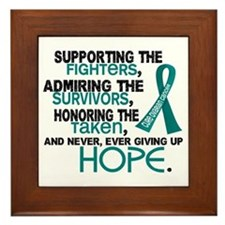 © Supporting Admiring 3.2 Ovarian Cancer Shirts Fr