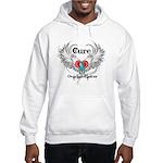 Cure Ovarian Cancer Hooded Sweatshirt