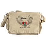 Cure Ovarian Cancer Messenger Bag