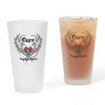 Cure Ovarian Cancer Drinking Glass