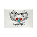 Cure Ovarian Cancer Rectangle Magnet (100 pack)