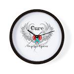 Cure Ovarian Cancer Wall Clock