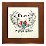 Cure Ovarian Cancer Framed Tile