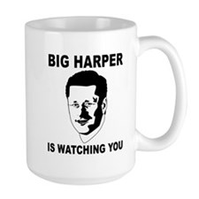 Big Harper Is Watching You - Stop Internet Control
