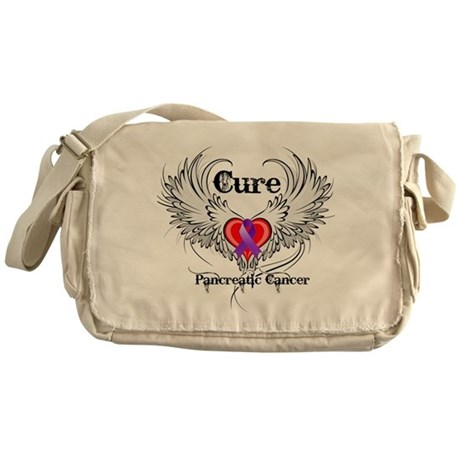 Cure Pancreatic Cancer Messenger Bag