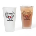 Cure Prostate Cancer Drinking Glass